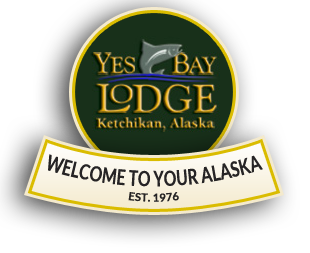 Yes Bay Lodge, Logo