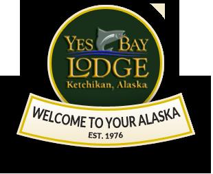 Yes Bay Lodge, Logo