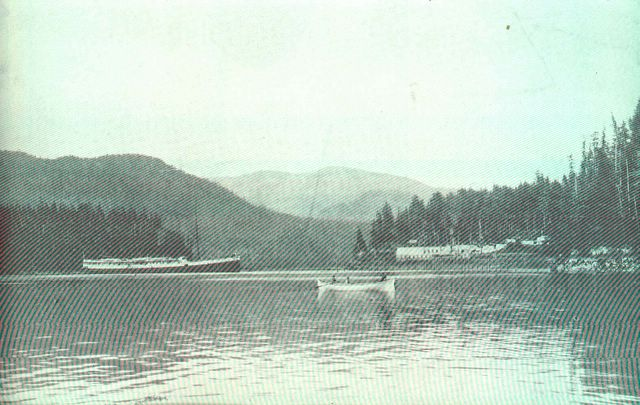 Yes Bay Cannery in 1908